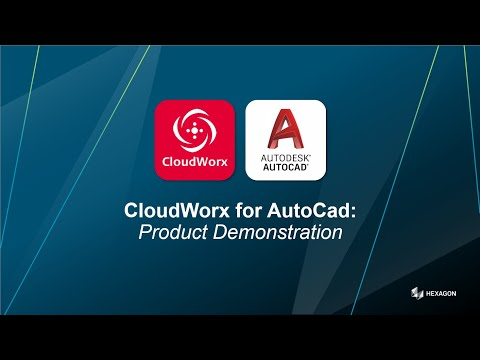 A very quick introduction to Leica CloudWorx for Autocad
