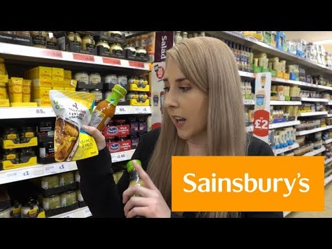 SPENDING £100 AT SAINSBURYS | GLUTEN FREE HAUL