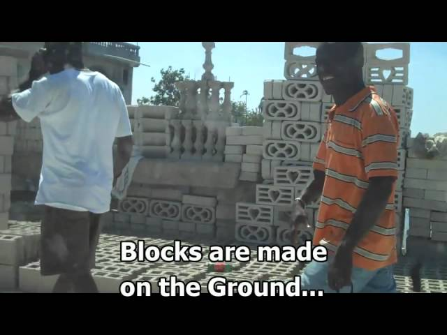 Concrete Block Production in Haiti - CementTrust