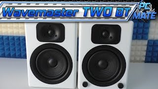 Wavemaster Two BT | Aktiv Lautsprecher | Bass | Bluetooth | Test