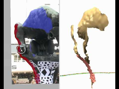 An Intuitive Interface for Interactive High Quality Image-Based Modeling