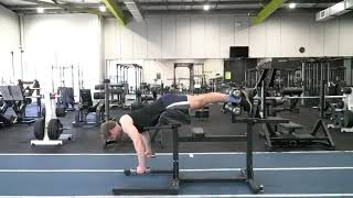 GHD Back Extension Lateral Raise