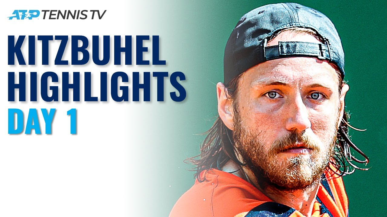 Cuevas takes on Ymer; Pouille, Gulbis & Munar all in action | Kitzbuhel 2021 Highlights Day 1