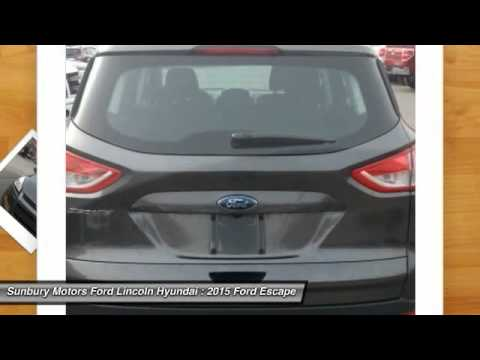 2015 Ford Escape Sunbury Pa Fc489 Youtube