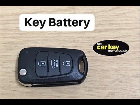 Key Battery Kia Hyundai Flip Key How To Change Youtube