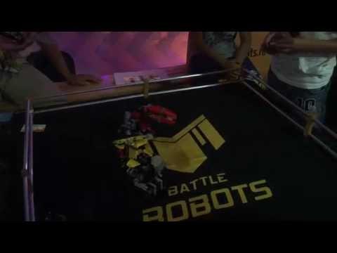 Nano City битва мини роботов