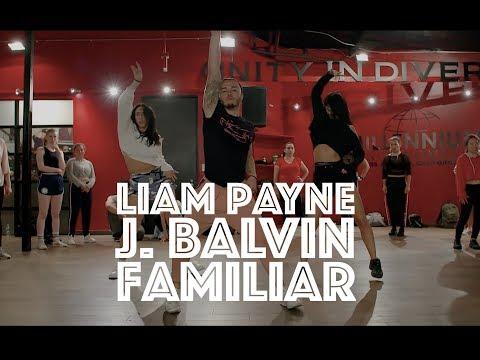 Liam Payne, J. Balvin - Familiar | Hamilton Evans Choreography