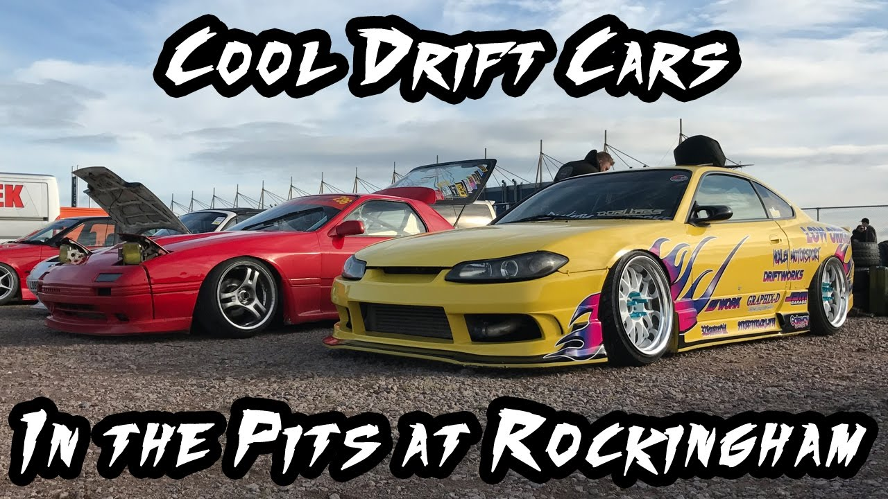Cool Drift Cars In The Pits At Rockingham Youtube