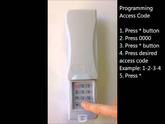 1 Sommer Garage Door Opener Amp Keypad Services In Az