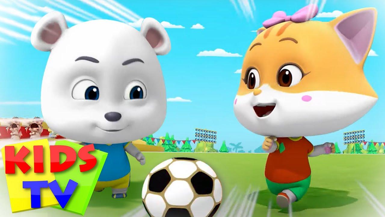 Soccer (Football) Song   Loconuts English Nursery Rhymes & Baby Songs   Kids Tv