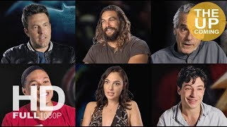 Justice League interviews: Ben Affleck, Gal Gadot, Miller, Snyder, Irons, Momoa Roven Simmons Fisher
