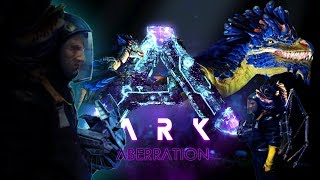 ARK Aberration - DEMO - First Look; EARTHQUAKES, ROCK DRAKE, HAZMAT SUITS & GLIDER! - Gameplay