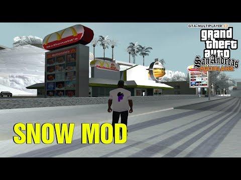ZASNĚŽENÉ WTLS! (GTA San Andreas Multiplayer #23)