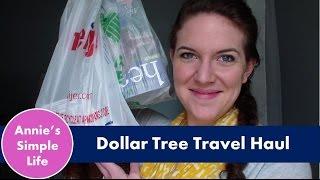 Dollar Tree Travel Haul