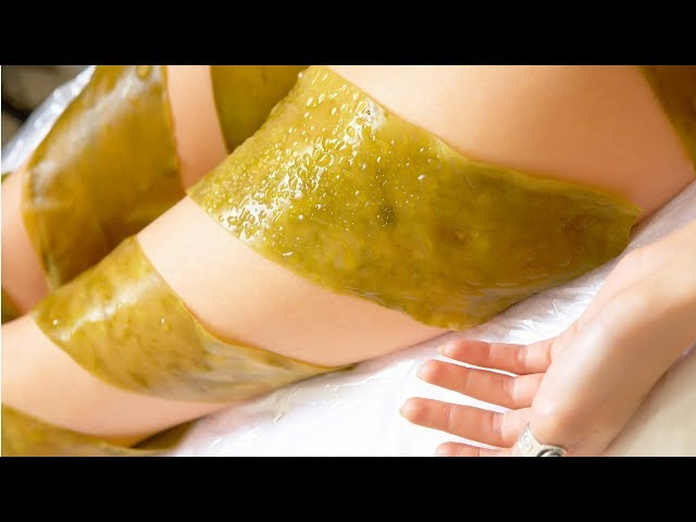 Морские водоросли от целлюлита