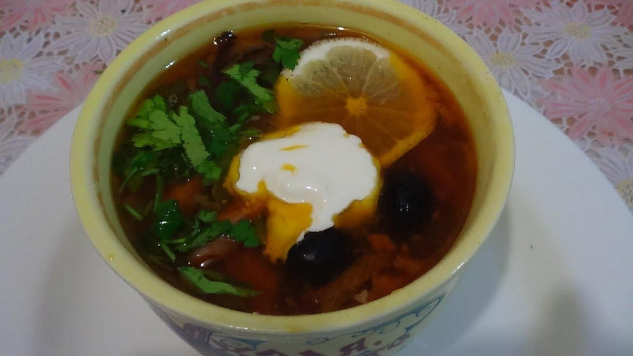 Солянка суп классический рецепт пошагово 84