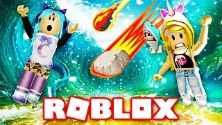 ROBLOX Natural Disaster Survival ft. Kawaii Kunicorn!! ✨