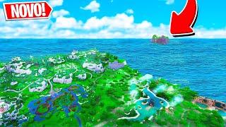 * NEW * SECRET ISLAND ON THE MAP OF FORTNITE! BASHFUL