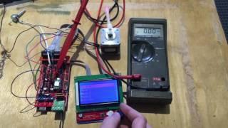 Adjusting an A4988 Stepper module current