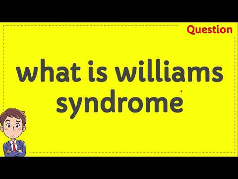 What is williams syndrome mp3