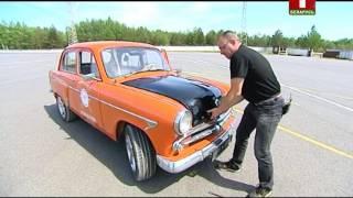 Тест-драйв легенды - Москвич-407.  Коробка передач