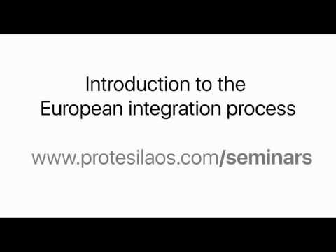 Introduction to the European integration process