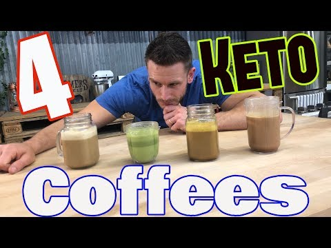 4 Types Of Keto Coffee: Full Recipes