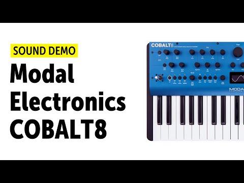 Modal Electronics Cobalt 8 Sound Demo (no talking)
