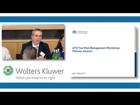 ATO Tax Risk Management - A Regulator's Observations - May 2015