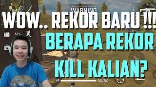REKOR BARU SAYA ! REKOR KALIAN BERAPA? HEHEHE - Free Fire : Battlegrounds Indonesia