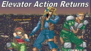 Taito Legends 2 (Ps2) - Elevator Action Returns - Mission 4
