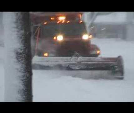 Arlington Heights Public Works Snow Plows