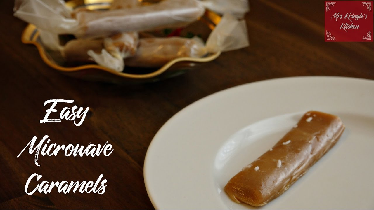 Easy Microwave Caramels | No candy thermometer required!
