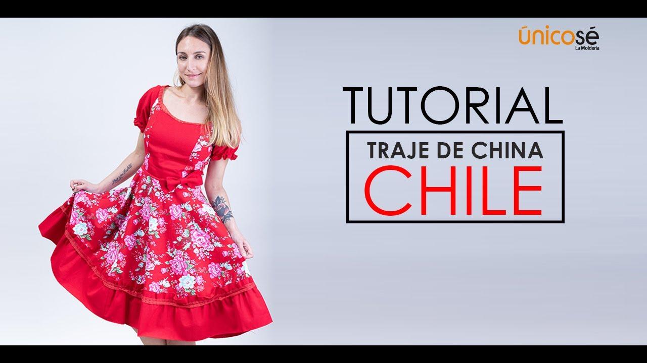 Download DIY COSTURA: Como coser un Vestido Huasa  FÁCIL