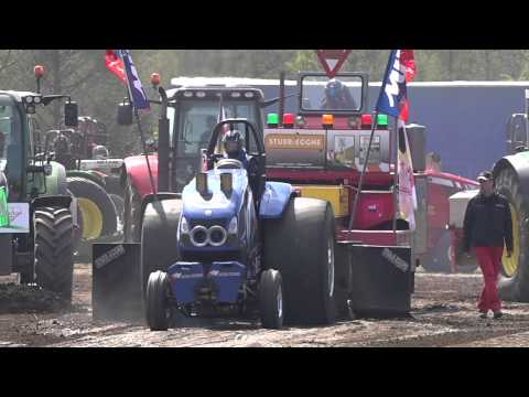 Super Stock 3,5t @ Brande DK 2015 Tractor Pulling