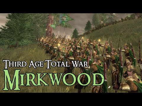 EPIC MIRKWOOD BATTLE - Third Age Total War