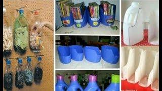 8 Ideas Fáciles Y Económicas Que Puedes Hacer Con Botellas De Agua Para Tu Pequeña Casa