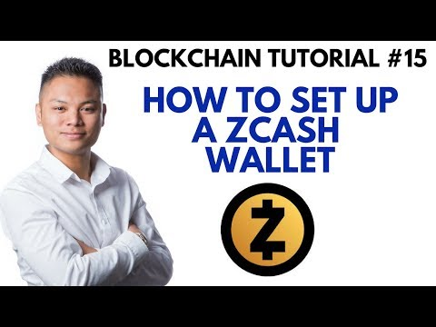 Blockchain Tutorial #15 - How To Setup A Zcash Wallet