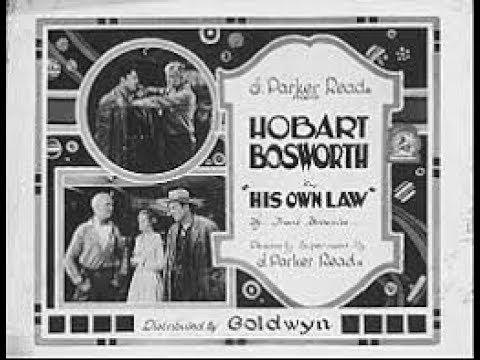His own law / Su propia ley (1920 USA)