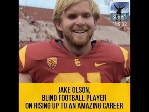 Rewind: Jake Olson, Blind Football Player