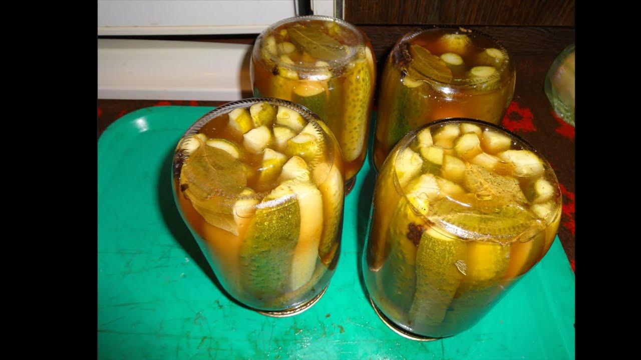 резаные маринованные огурцы на зиму рецепты с фото