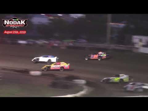 Nodak Speedway IMCA Sport Mod A-Main (8/25/19)
