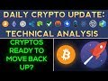 Bitcoin Bounces, Are Cryptos READY To Move Back Up!?