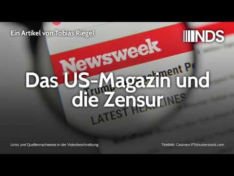 Das US-Magazin und die Zensur | Tobias Riegel | NachDenkSeiten-Podcast | 20.12.2019