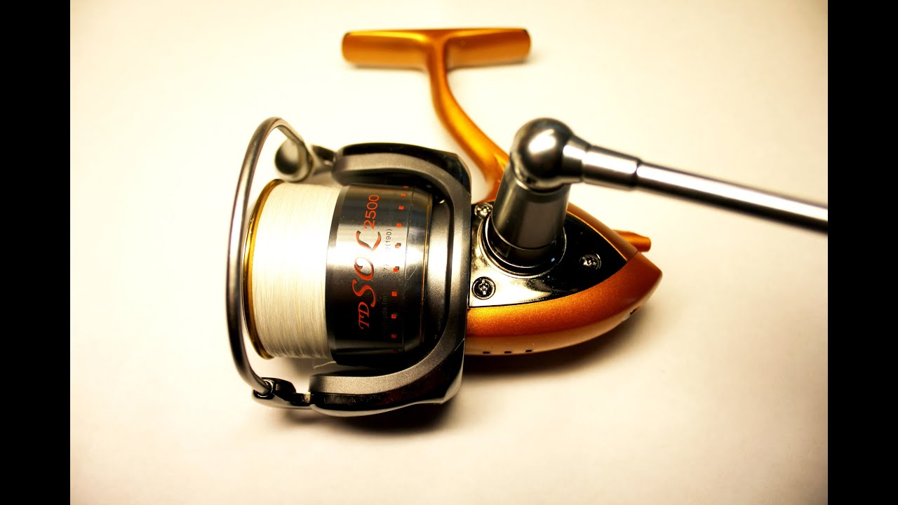 """Td sol iii is the first reel to feature the all new future design concept lt or """"light tough"""". Introducing 'minimalist engineering' in daiwa spinning reels, the lt."""