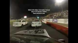 Chain Race Crash Out Bowman Gray stadium 1st time racing at bgs