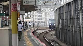 相鉄12000系12104F 埼京線内試運転 中浦和駅通過!※E2系と並走! 2019 09 05