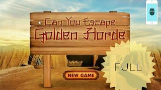 Can You Escape Golden Horde