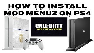 How to Install Mod Menu on Infinite Warfare PS4 5.05 HEN PS3Trainer (2019)