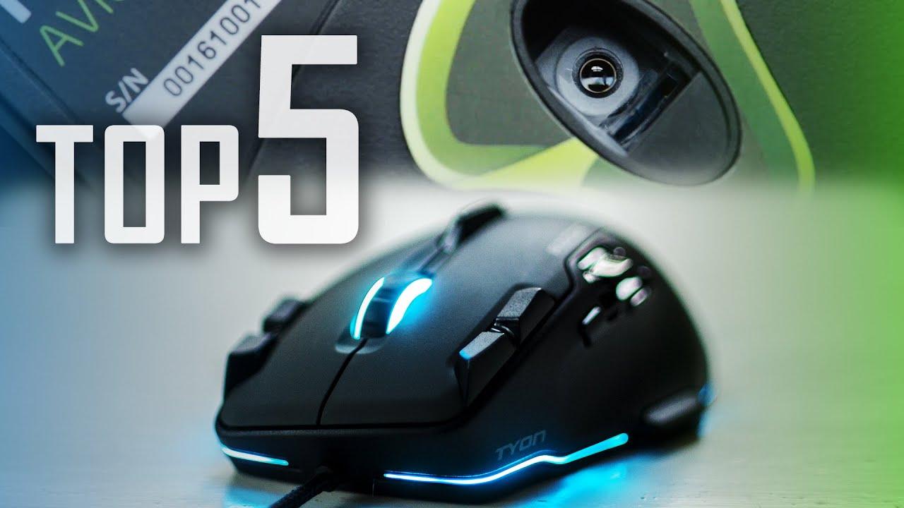top five gaming mice
